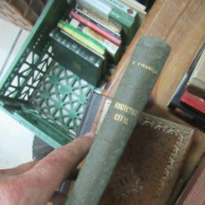 Libros de segunda mano: REGISTRO CIVIL, F. VIVANCOS. L.19394. Lote 175407069