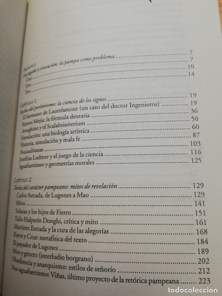 Libros de segunda mano: RESTOS PAMPEANOS. CIENCIA, ENSAYO Y POLÍTICA EN LA CULTURA ARGENTINA DEL SIGLO XX (HORACIO GONZÁLEZ) - Foto 3 - 175632898