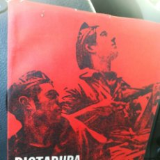 Libros de segunda mano: DICTADURA Y REVOLUCIÓN LUIGI FABBRI. COLECCIÓN SIGNO LITERARIO 1938. Lote 175703645