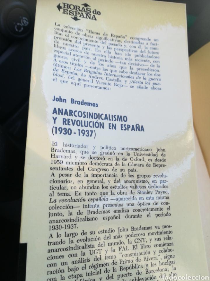Libros de segunda mano: A arco sindicalismo en España 1930 -1937 John Brademas Ariel 1974 - Foto 2 - 175707054