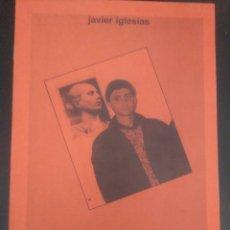 Libros de segunda mano: VOLVERÉ Y SERÉ MILLONES. JAVIER IGLESIAS. CUADERNILLO DE EL CORAZÓN DEL BOSQUE. FALANGE AUTÉNTICA. Lote 175745499