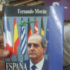 Libros de segunda mano: ESPAÑA EN SU SITIO, FERNANDO MORÁN. L.13773-507. Lote 176178688