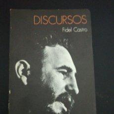 Libros de segunda mano: FIDEL CASTRO, DISCURSOS. Lote 176222540