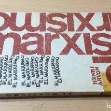 Libros de segunda mano: EL MARXISMO - HENRI ARVON - 11 BIBLIOTECA PROMOCION DEL PUEBLO/ 71-72 AB. Lote 176484962