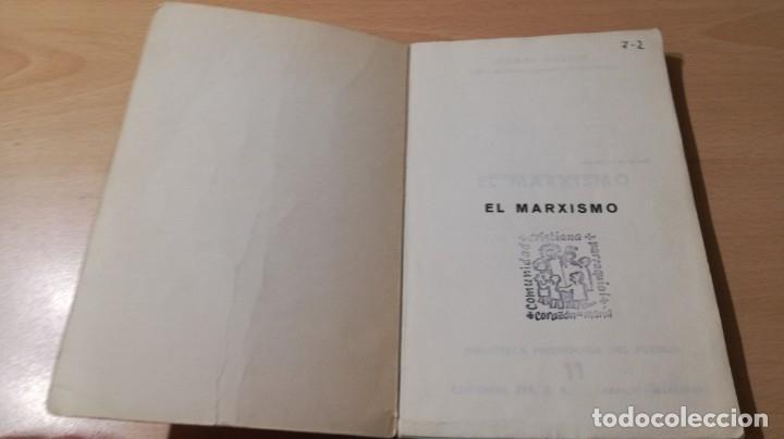 Libros de segunda mano: EL MARXISMO - HENRI ARVON - 11 BIBLIOTECA PROMOCION DEL PUEBLO/ 71-72 AB - Foto 3 - 176484962