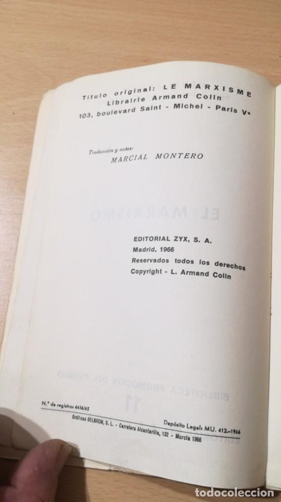 Libros de segunda mano: EL MARXISMO - HENRI ARVON - 11 BIBLIOTECA PROMOCION DEL PUEBLO/ 71-72 AB - Foto 6 - 176484962