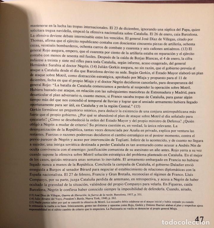 Libros de segunda mano: POR QUE PERDIMOS LA GUERRA. OBRA EN 2 TOMOS. CARLOS ROJAS. EDICION MAIL IBERICA. VALENCIA, 1970. - Foto 3 - 176813319