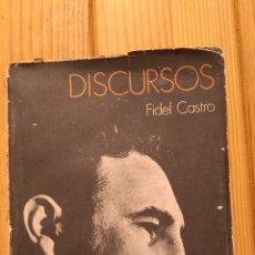 Libros de segunda mano: DISCURSOS DE FIDEL CASTRO. Lote 177707809