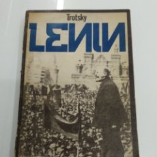 Libros de segunda mano: LENIN POR LEON TROTSKY EDITORIAL MERLIN 1972 BUENOS AIRES 1° EDICIÓN COMUNISMO SOCIALISMO MARXISMO. Lote 178021453