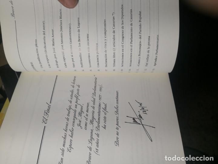 Libros de segunda mano: BRAVO DE LAGUNA. 18 AÑOS DE PARLAMENTARISMO. POR Manuel de Lucas - Foto 7 - 178084880