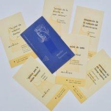 Libros de segunda mano: SECCIÓN FEMENINA DE FALANGE. PROGRAMA DE VEINTICINCO ANIVERSARIO. OCTUBRE 1959, ZARAGOZA. Lote 178124894