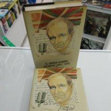 Libros de segunda mano: EL PRIMER AGUIRRE ESCRITOS 1904 - 1936 EKIN ELÍAS AMEZAGA 2 VOLS PNV LEHENDAKARI JOSE ANTONIO VASCO. Lote 178763353