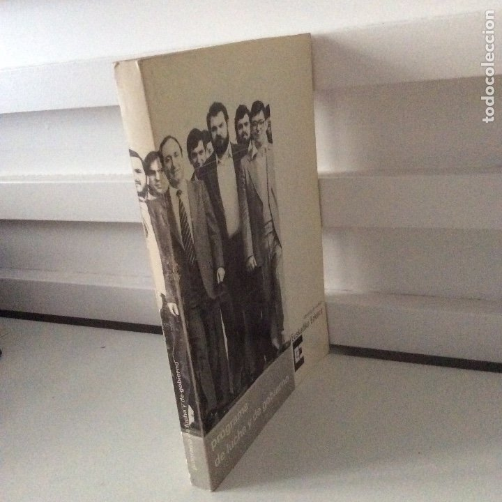 Libros de segunda mano: Programa de lucha y de gobierno Euskadiko Ezkerra Izquierda de Euskadi 1980 RARO - Foto 3 - 178895772