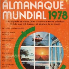 Libros de segunda mano: ALMANAQUE MUNDIAL 1978. EDITORIAL AMERICA. Lote 245992300
