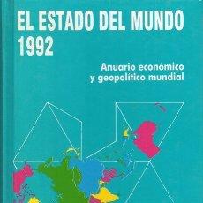 Libros de segunda mano: EL ESTADO DEL MUNDO. AÑO 1992. EDITORIAL AKAL. Lote 178959705