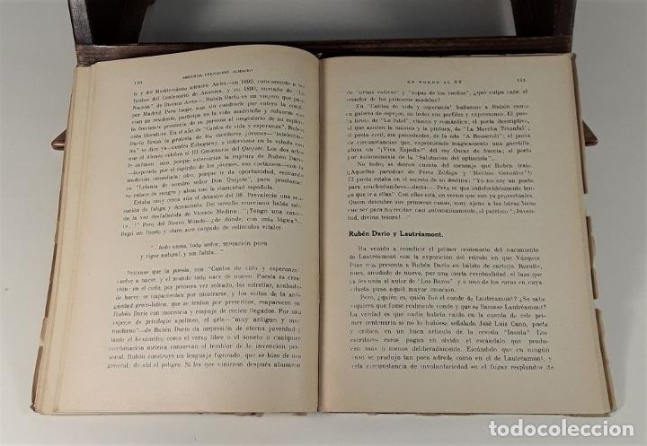 Libros de segunda mano: ENTORNO AL 98 POLÍTICA Y LITERATURA. MELCHOR FERNÁNDEZ. EDIT. JORDAN. MADRID. 1948. - Foto 2 - 180098016