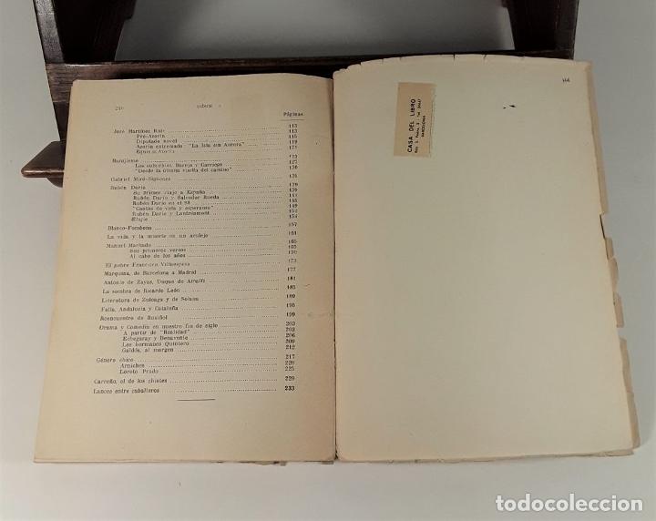 Libros de segunda mano: ENTORNO AL 98 POLÍTICA Y LITERATURA. MELCHOR FERNÁNDEZ. EDIT. JORDAN. MADRID. 1948. - Foto 3 - 180098016
