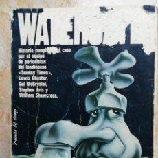 Libros de segunda mano: WATERGATE. VARIOS AUTORES. 1974. Lote 180224482