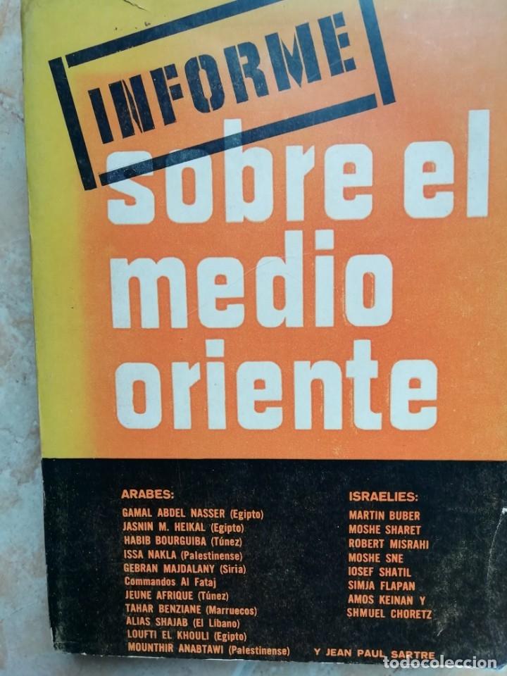 INFORME SOBRE EL MEDIO ORIENTE. 1968. LEÓN POCH. (Libros de Segunda Mano - Pensamiento - Política)