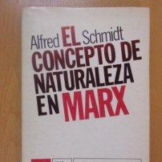 Libros de segunda mano: EL CONCEPTO DE NATURALEZA EN MARX / ALFRED SCHMIDT / 1977. SIGLO XXI EDITORES. Lote 180394298
