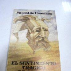 Libros de segunda mano: EL SENTIMIENTO TRAGICO DE ESPAÑA. MIGUEL DE UNAMUNO. 1º EDICION. 1986. DIPUTACION DE SALAMANCA. Lote 180434602