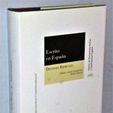 Libros de segunda mano: ESCRITO EN ESPAÑA. Lote 181160875