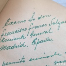 Libros de segunda mano: LA GRAN CONSPIRACIÓN JUDÍA TRAIAN ROMANESCU. CON DEDICATORIA A FRANCISCO FRANCO SALGADO (PACÓN) 1957. Lote 181330423