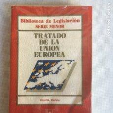 Libros de segunda mano: TRATADO DE LA UNIÓN EUROPEA.1 EDICIÓN ,EDITORIAL CIVITAS. Lote 181435692