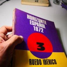 Libros de segunda mano: HORIZONTE ESPAÑOL - RUEDO IBÉRICO 72 - 3 - ENVÍO CERTIFICADO 4, 99. Lote 181526872