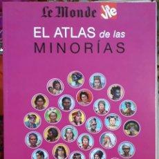 Livres d'occasion: EL ATLAS DE LE MONDE DIPLOMATIQUE . MINORÍAS. Lote 181609768