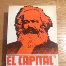 Libros de segunda mano: EL CAPITAL CRÍTICA DE LA ECONOMÍA POLÍTICA CARLOS MARX. Lote 181954402