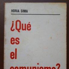 Libros de segunda mano: ¿QUÉ ES EL COMUNISMO? - FUERZA NUEVA EDITORIAL - 1975. Lote 182088667