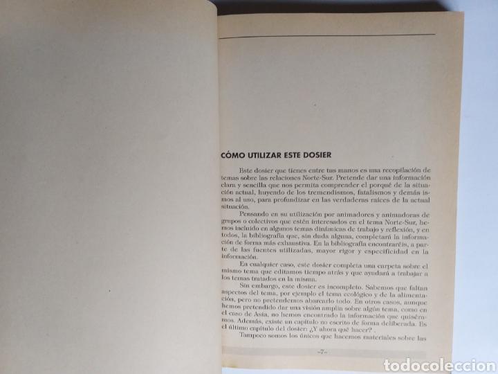 Libros de segunda mano: Pensamiento política . Norte - Sur . Dosier para trabajar las relaciones Norte-Sur. - Foto 12 - 182138088