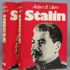 Livres d'occasion: STALIN, EL HOMBRE Y SU EPOCA. ADAM B. ULAM. Lote 182856208