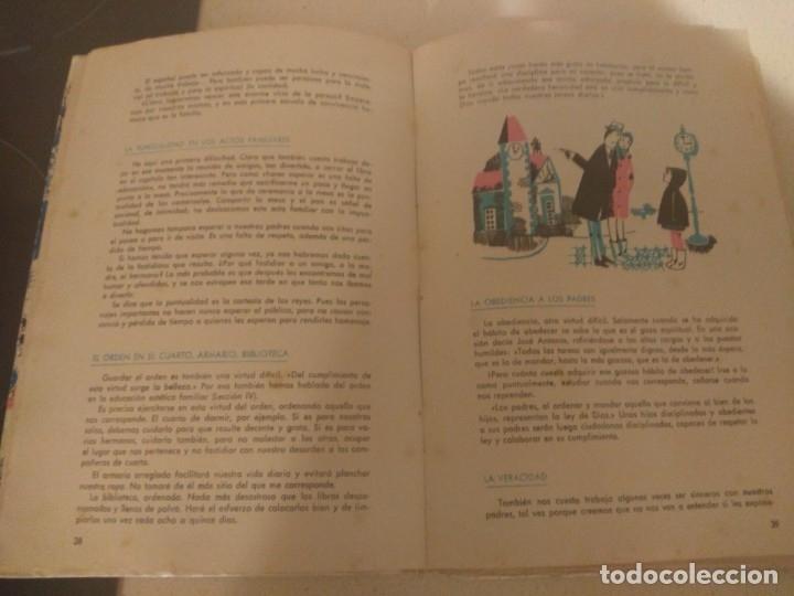 Libros de segunda mano: Lote 3 libros antiguos Formación Politico Social 1-2-3° Bachillerato 1966 Seccion Femenina FET JONS - Foto 4 - 182890091