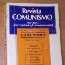 Livros em segunda mão: REVISTA COMUNISMO (1931-1934). LA HERENCIA HISTÓRICA DEL MARXISMO ESPAÑOL - FONTAMARA, 1978. Lote 180281361