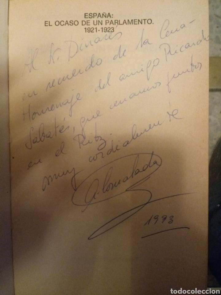 Libros de segunda mano: Libro primera edicion de angel comalada fimado y recordando homenaje a Ricardo Sabatés - Foto 2 - 183860070