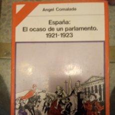 Libros de segunda mano: LIBRO PRIMERA EDICION DE ANGEL COMALADA FIMADO Y RECORDANDO HOMENAJE A RICARDO SABATÉS. Lote 183860070