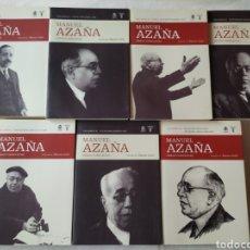Libros de segunda mano: AZAÑA, MANUEL(1880-1940). OBRAS COMPLETAS. EDICIÓN DE SANTOS JULIÁ DÍAZ. MADRID,. Lote 184340326
