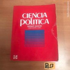 Libros de segunda mano: CIENCIA POLÍTICA. Lote 184580656