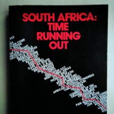 Libros de segunda mano: SOUTH AFRICA: TIME RUNNING OUT- THE REPORT OF THE STUDY COMMISSION ON US POLICY TOWARD SOUTHERN AFRI. Lote 184636821
