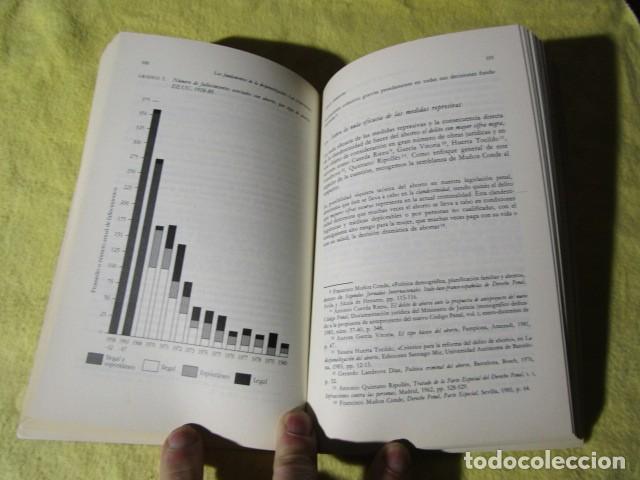 Libros de segunda mano: La despenalización del aborto voluntario en el ocaso del siglo XX - Foto 6 - 186240241