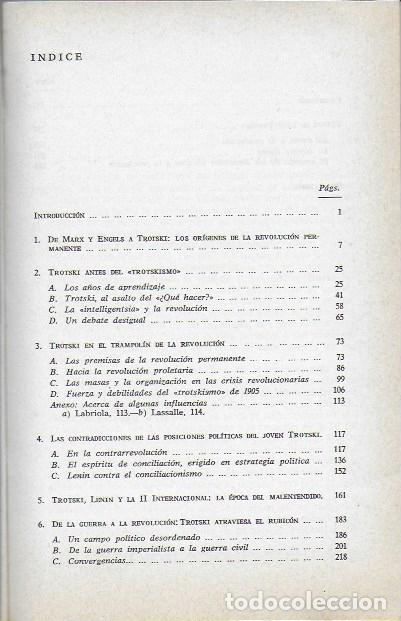 Libros de segunda mano: En los orígenes de la revolución permanente. El pensamiento político del joven Trotsky / A. Brossat. - Foto 2 - 188793778