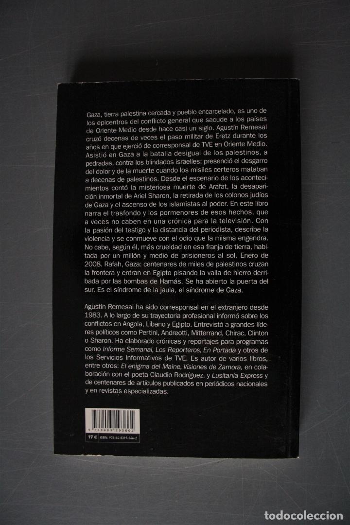 Libros de segunda mano: Gaza. Una cárcel sin techo. Agustín Remesal. Ed. Catarata. Madrid 2008. - Agustín Remesal - Foto 2 - 189097437