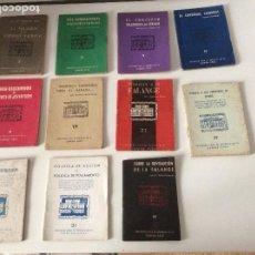 Libros de segunda mano: EDICIONES PARA EL BOLSILLO DE LA CAMISA AZUL 7 LIBRITOS 2-8-9-13-14-19-21-29-30-31-VII. Lote 177945659