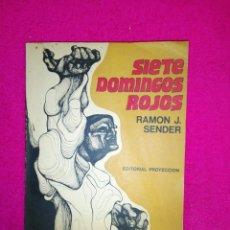 Libros de segunda mano: SIETE DOMINGOS ROJOS. Lote 189768270