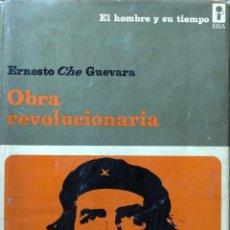 Libros de segunda mano: OBRA REVOLUCIONARIA. ERNESTO CHE GUEVARA. EDICIONES ERA. REVOLUCIÓN CUBANA. GUERRILLA.. Lote 190460748