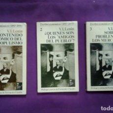 Libros de segunda mano: ESCRITOS ECONOMICOS.( 1893-1899).LENIN.. Lote 190568181