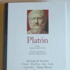 Libros de segunda mano: PLATON - DIALOGOS - EDITORIAL GREDOS - BUENA CONSERVACION. Lote 191237415