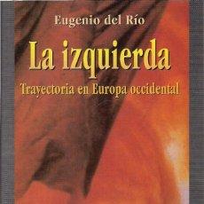 Libros de segunda mano: EUGENIO DEL RÍO : LA IZQUIERDA (TRAYECTORIA EN EUROPA OCCIDENTAL). TALASA EDS., 1999. Lote 205839143